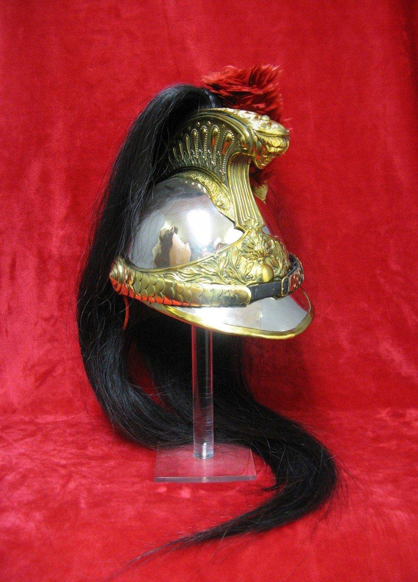 Dragon Helmet Model 1874. Cavalry 14/18.-photo-4