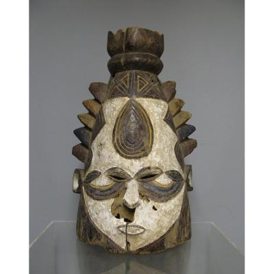 Conical Crest Mask - Igbo / Ibo - Nigeria