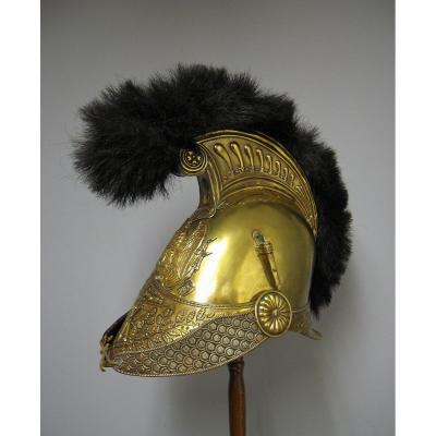 Casque De Sapeur Pompier Mle 1821. Second Empire. Napoléon III.