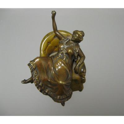 Bronze érotique XIXe.
