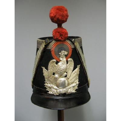 Shako Of Officer Of The National Guard Mle 1848. Second Republic.