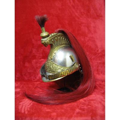 Republican Guard On Horseback Trumpet Helmet.