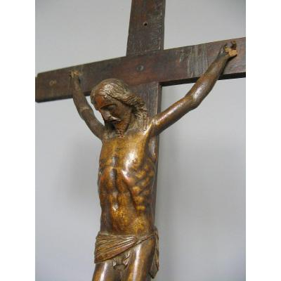 Christ In Carved Wood Eighteenth.