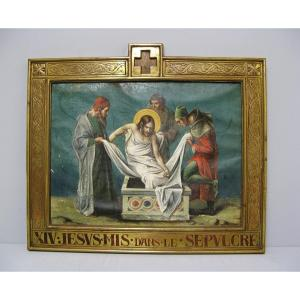 Episode From The Life Of Christ. The XIXth Entombment.