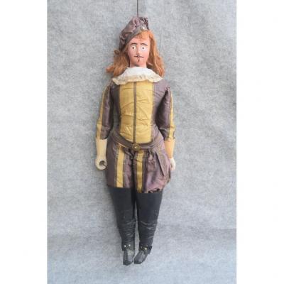 Marionnette à Tringle, Théatre de Bruxelles - Liége - Picardie