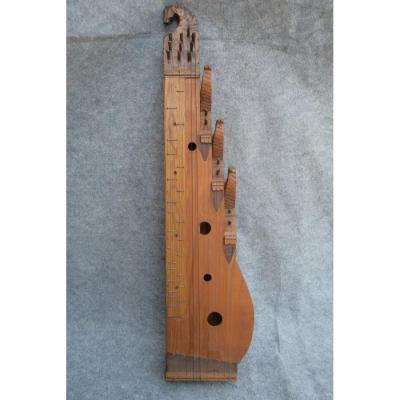 Epinette Des  Vosges, Instrument De Musique, Folklore, Art Populaire