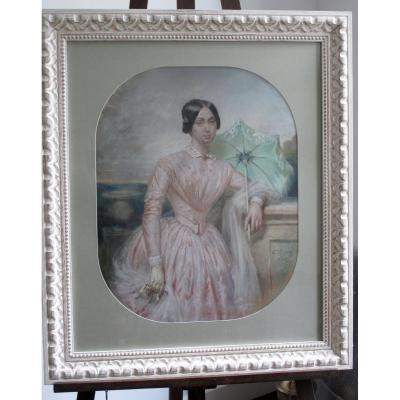 Portrait à l'Ombrelle
