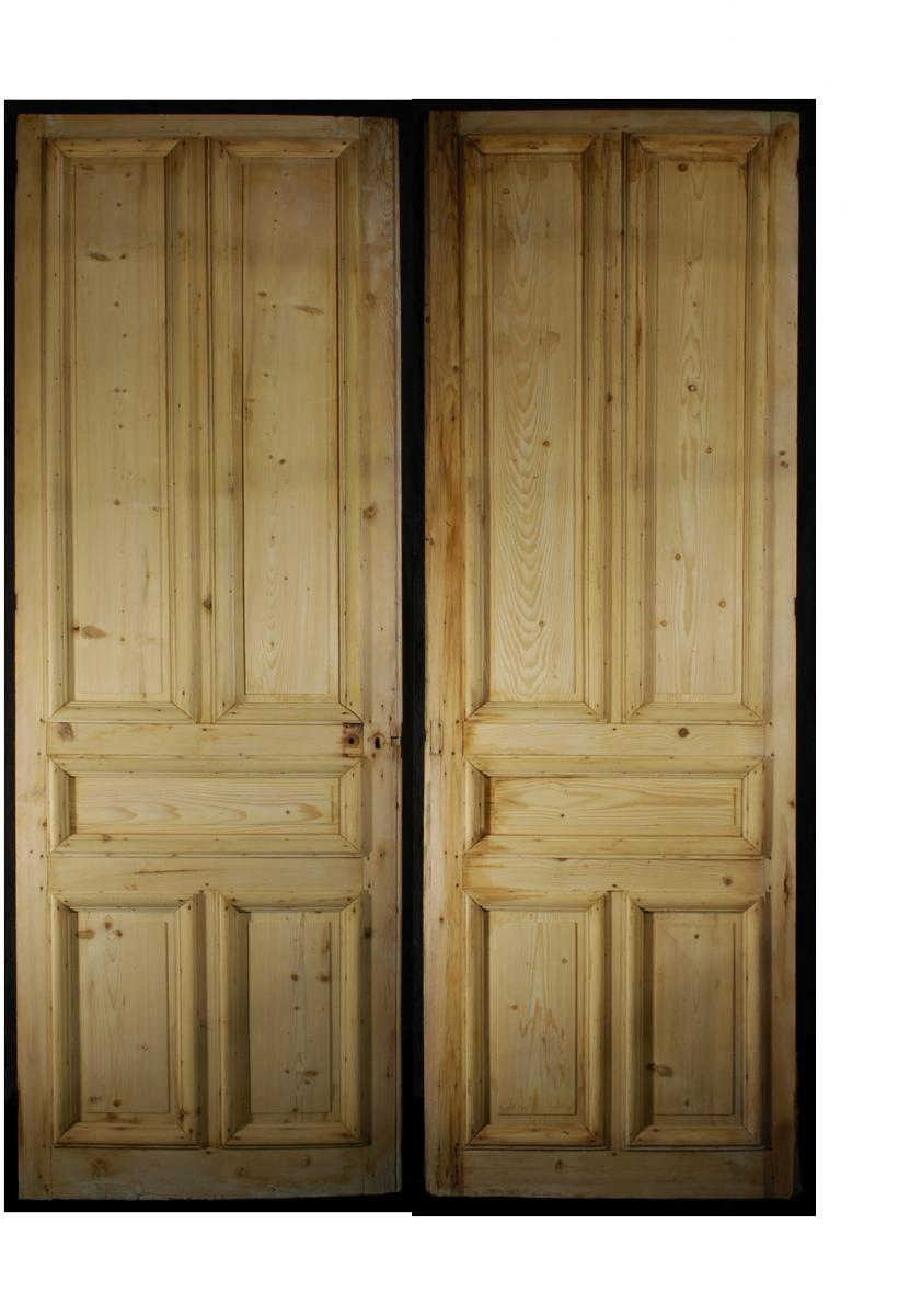 "Pair Of ""hausmannian"" Doors"