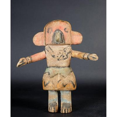Petite statuette de divinité Katsina du peuple Hopi