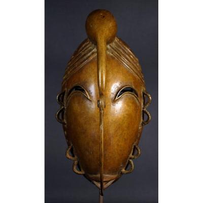 Masque Ligbi en bronze