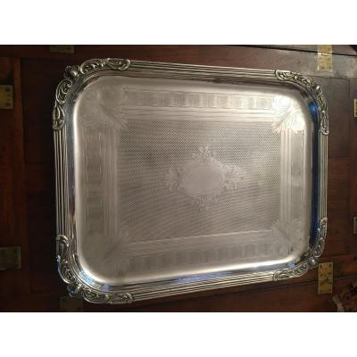 Silver Metal Tray