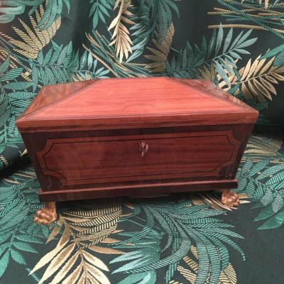 A Directoire Jewlery Box