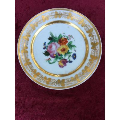 Empire Period Porcelain Plate