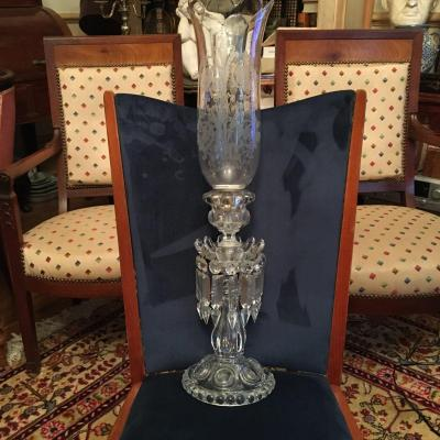 Baccarat Crystal End Table