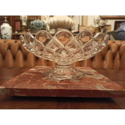 Baccarat Crystal Fruit Bowl Diamond Model