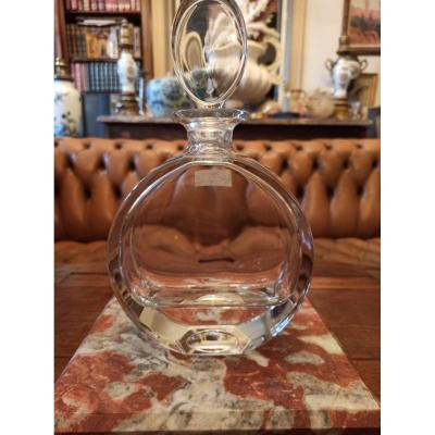 Alcohol Decanter In Crystal XX Eme Century
