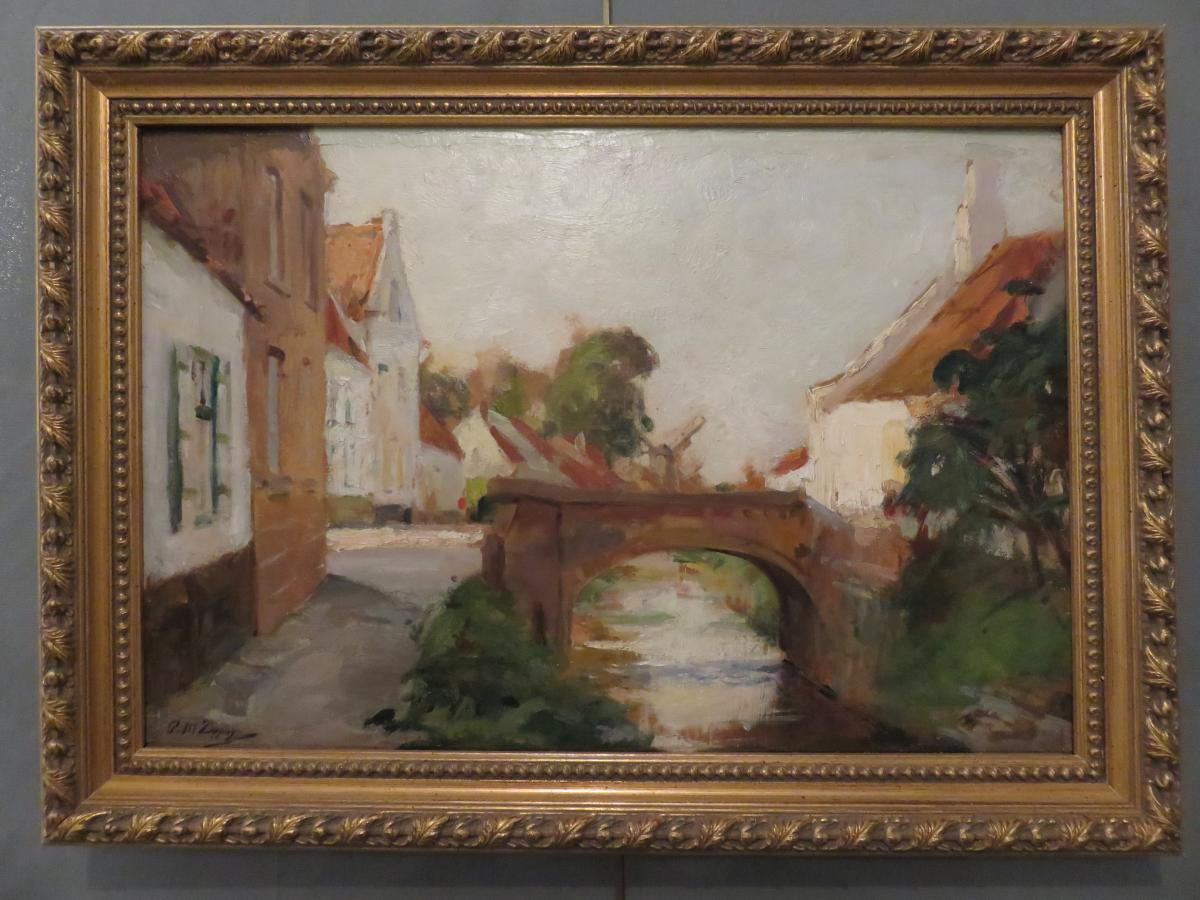 Oil S / Panel By Paul Michel Dupuy (1869-1949)