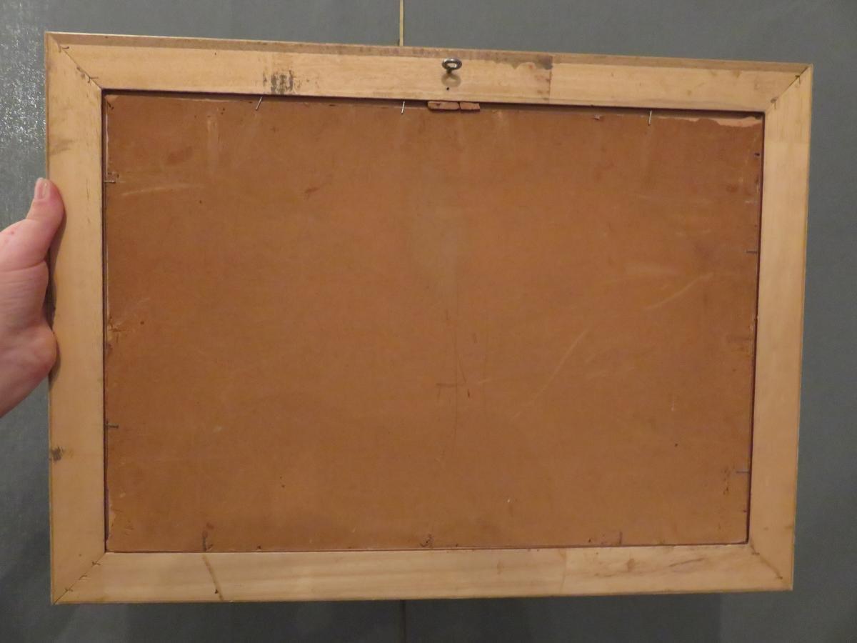 Oil S / Panel By Paul Michel Dupuy (1869-1949) -photo-1