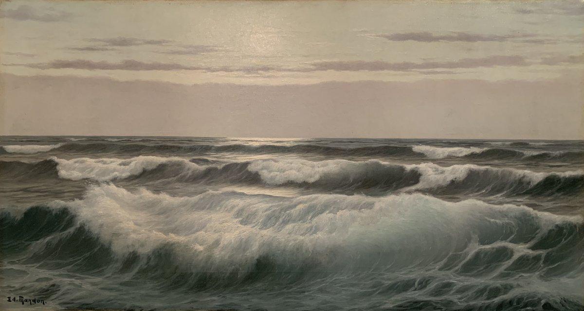 « La Vague » - Edouard Mandon – (1885-1977)