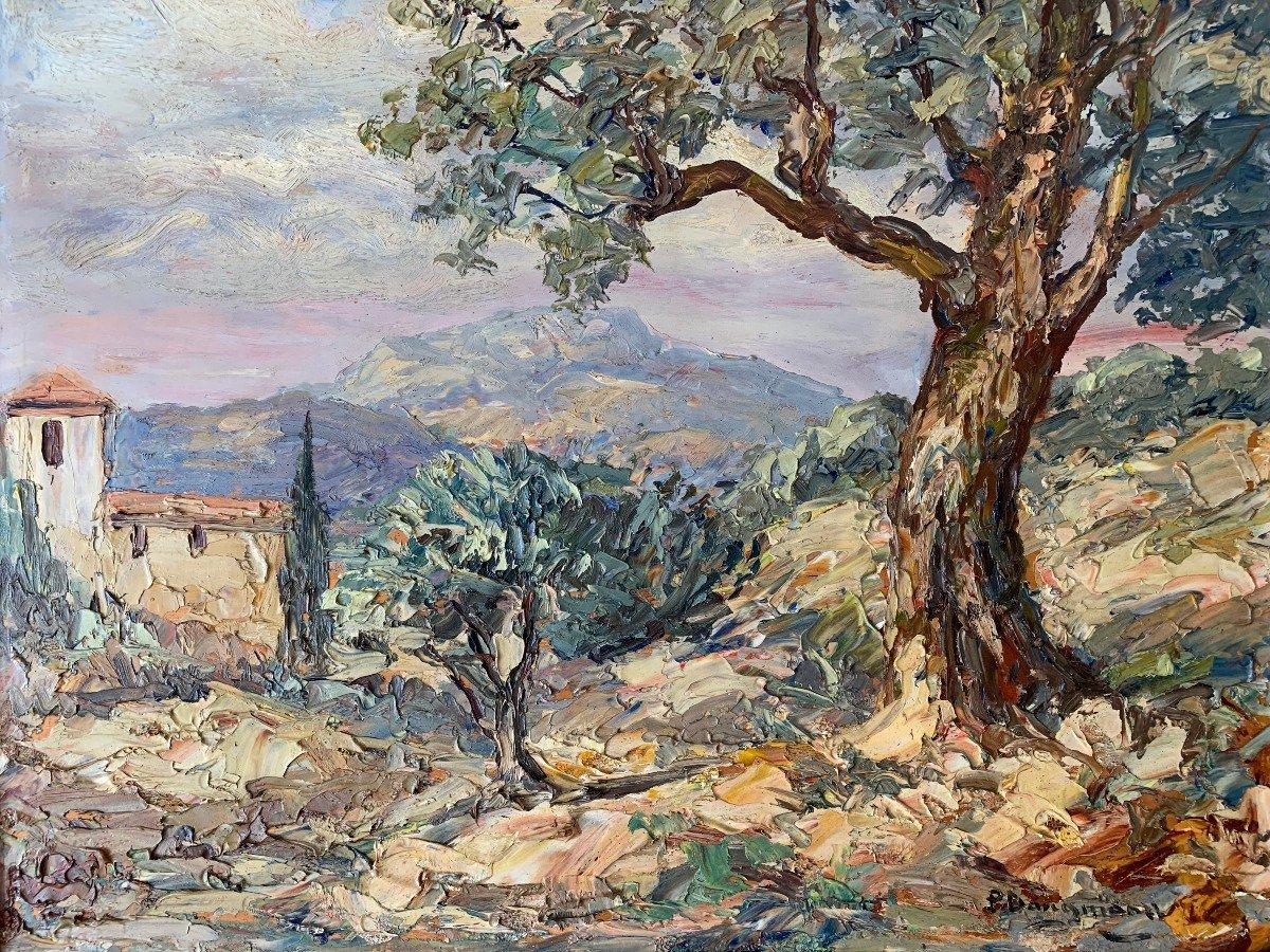 Paysage De Provence Par « Paul Dangmann »