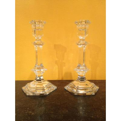 Bougeoirs Baccarat