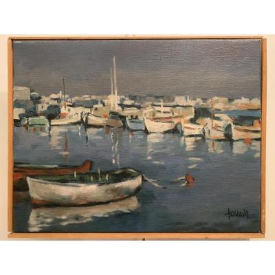 Oil On Canvas By Gérard Gervais (1931-2011)