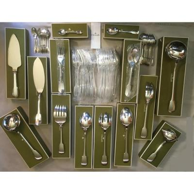 Housewife Christofle Model Cluny 58 Pieces