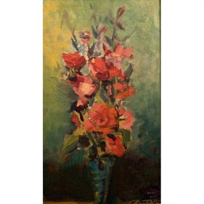Les Roses Rouges- Nicolas Sokoloff ( 1899-1985 )