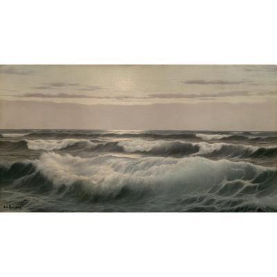 """the Wave"" - Edouard Mandon - (1885-1977)"