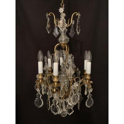 Cage Shaped Chandelier