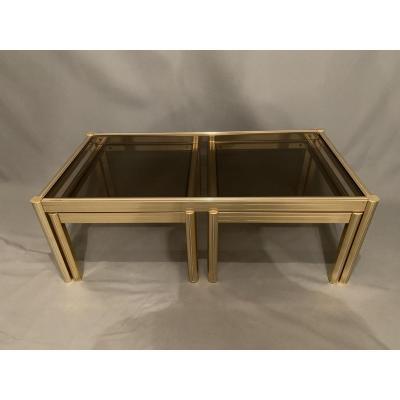Table Basse Design En Laiton
