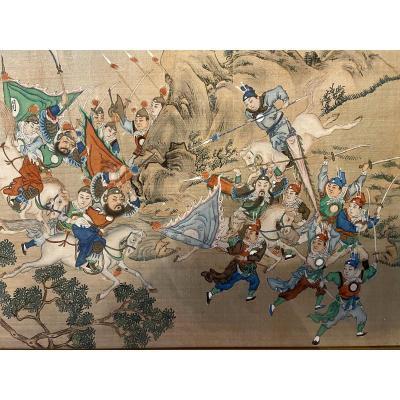 Chine - Peinture Vers 1830/40