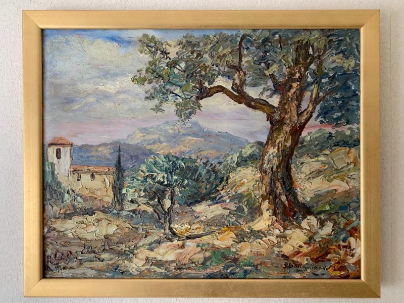 Paysage De Provence Par « Paul Dangmann »-photo-2