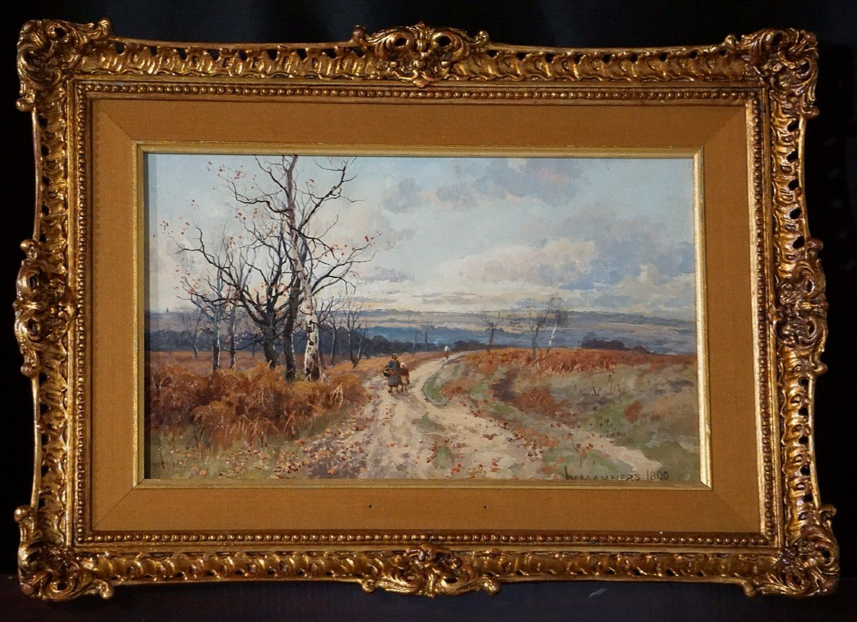 Paysage d'automne / William Manners / 1890