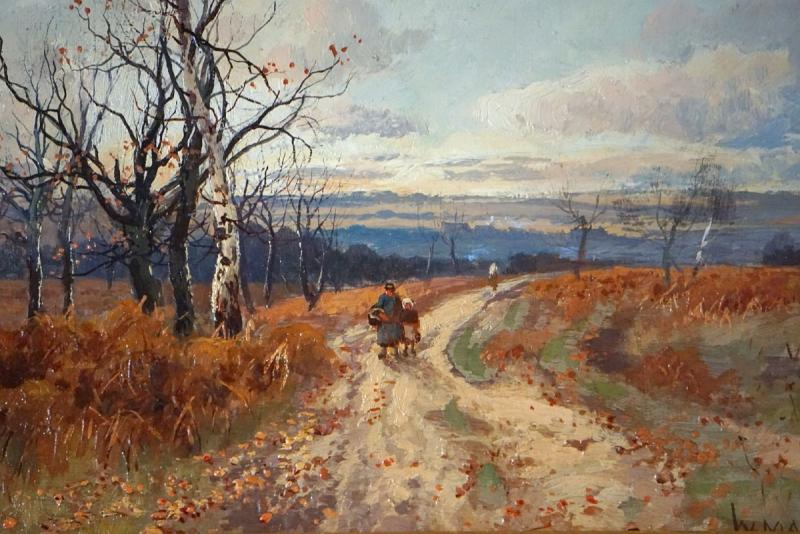 Paysage d'automne / William Manners / 1890-photo-2