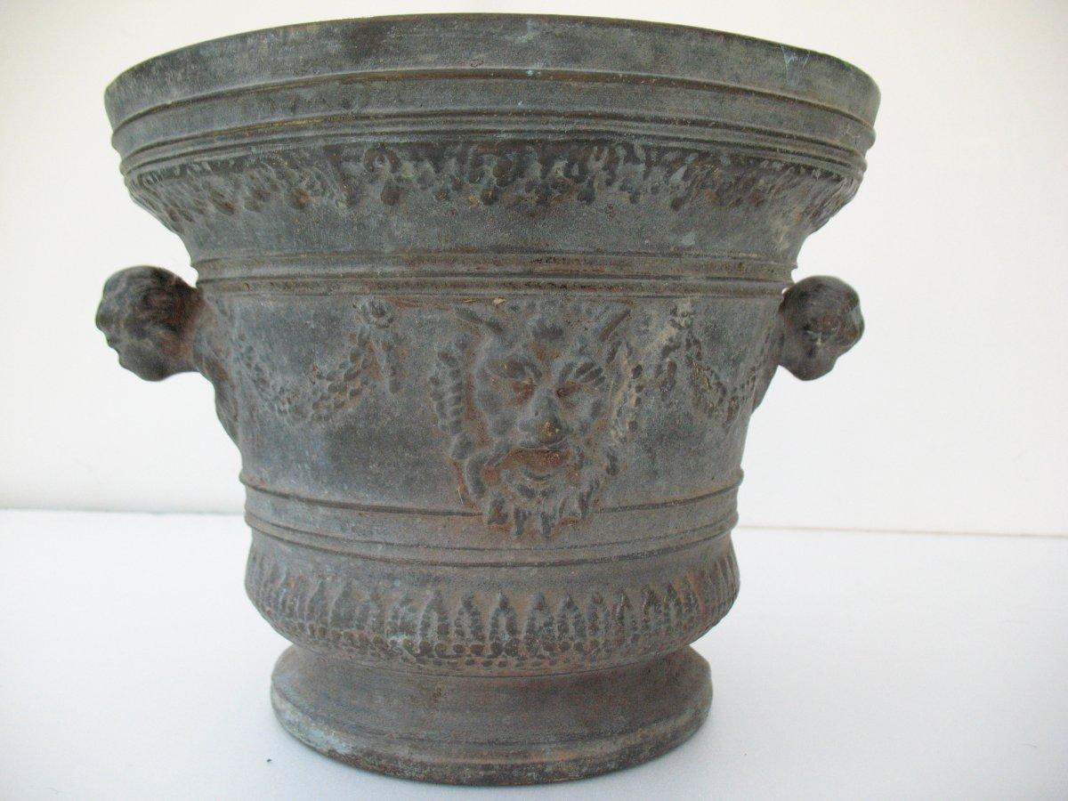 Grand Mortier En Bronze