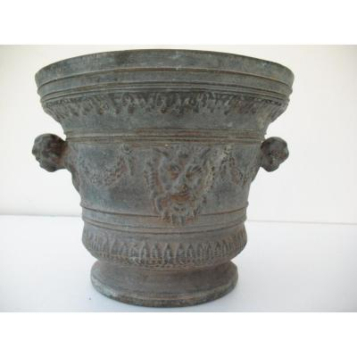 Large Bronze Mortar