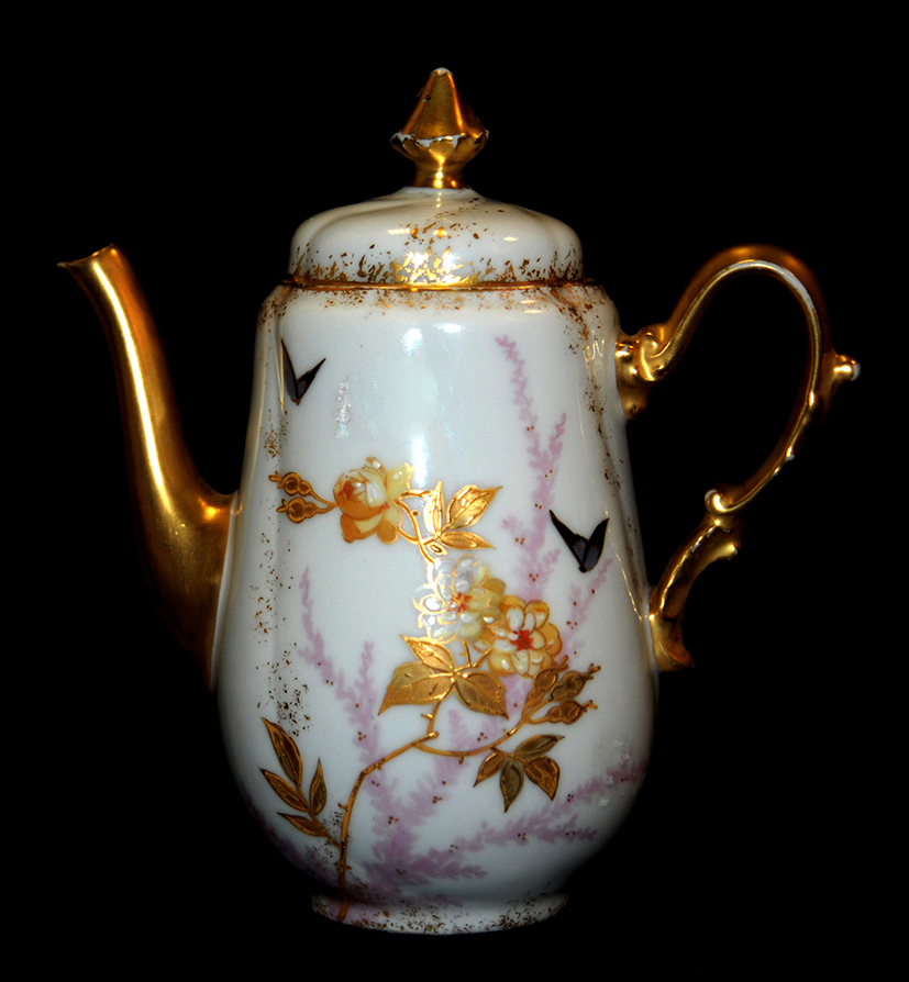 Porcelain Theater, Limoges Porcelain Theater, Hand Painted Decor.-photo-3