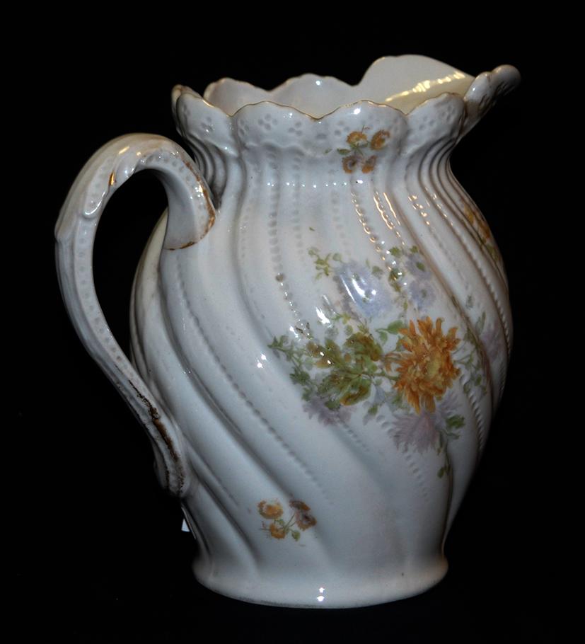 Pichet, Broc, Aiguière En Porcelaine De Limoges William Guerin.-photo-2