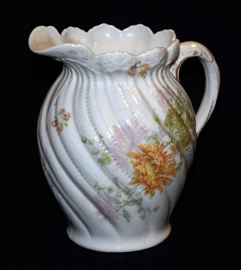 Pichet, Broc, Aiguière En Porcelaine De Limoges William Guerin.-photo-3