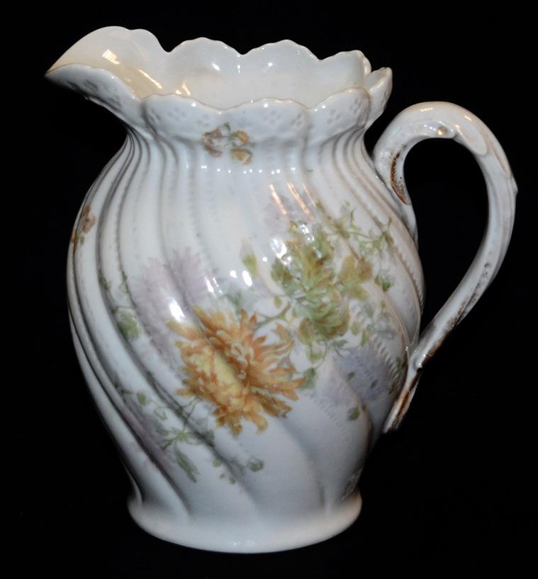 Pichet, Broc, Aiguière En Porcelaine De Limoges William Guerin.-photo-4