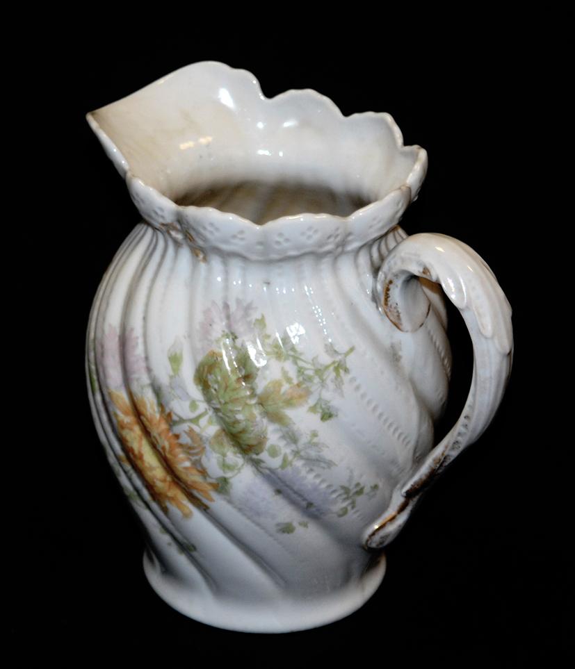 Pichet, Broc, Aiguière En Porcelaine De Limoges William Guerin.-photo-1