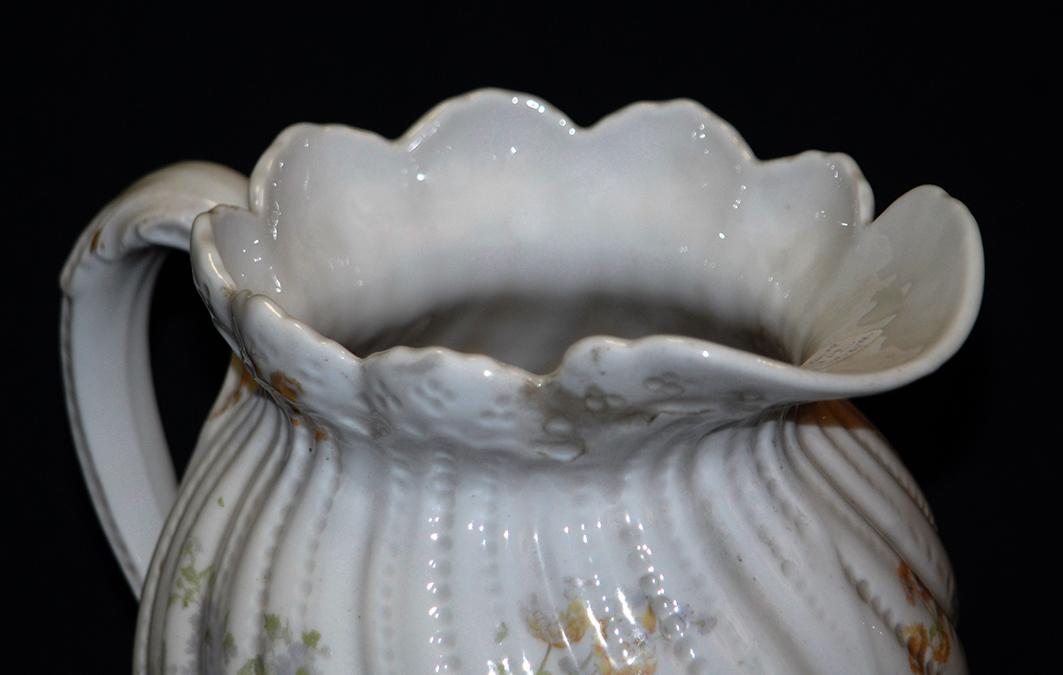 Pichet, Broc, Aiguière En Porcelaine De Limoges William Guerin.-photo-5