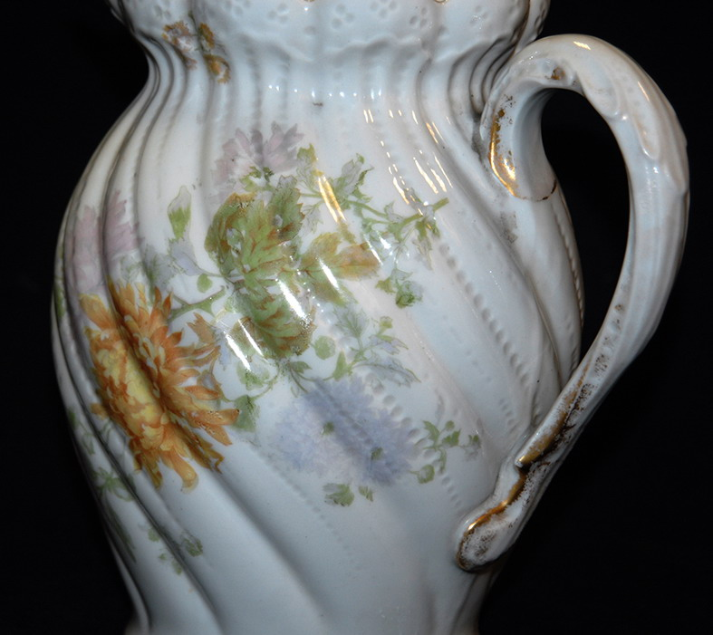 Pichet, Broc, Aiguière En Porcelaine De Limoges William Guerin.-photo-6