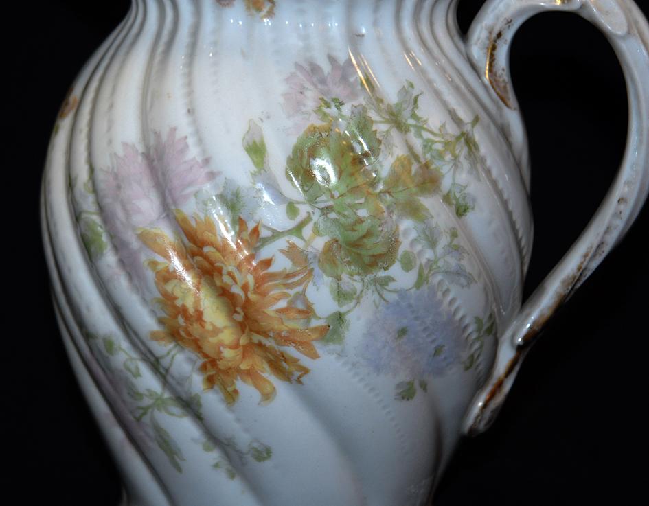 Pichet, Broc, Aiguière En Porcelaine De Limoges William Guerin.-photo-7
