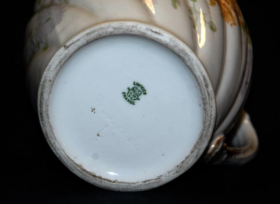 Pichet, Broc, Aiguière En Porcelaine De Limoges William Guerin.-photo-8