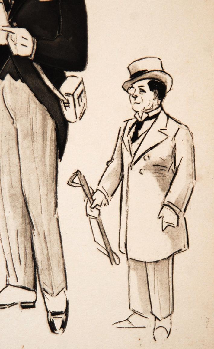 Gravure De Fernand Fernel, Numéro De Cirque, Gala De l'Union, Marcelle Jefferson Coha.-photo-1
