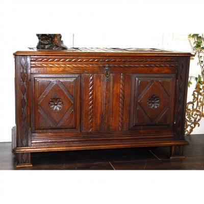 Carved Chest, Early Nineteenth.