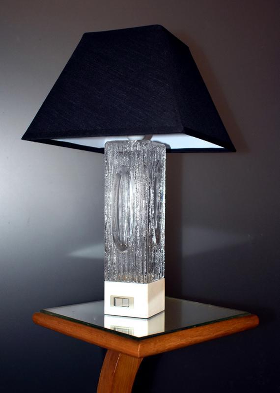 Daum Crystal Lamp, Design 50 - 60-photo-2