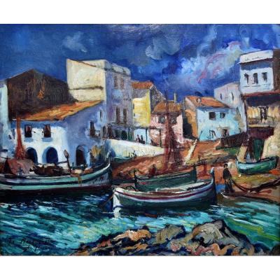 Alberto Munöz , Calella De Palafrugell ,  Village De Pêcheurs, Port De La Costa  Brava ,  Méditerranée